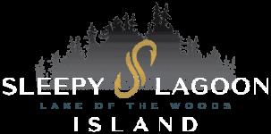 Logo for Sleepy Lagoon Island